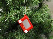 Etch-a-Sketch Game Christmas Ornament