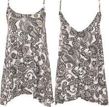 Hip Length Paisley Pattern Viscose Tops & Shirts for Women
