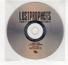 (GP383) Lostprophets, Can't Catch Tomorrow - 2006 DJ CD