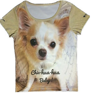 Medium Chic Chihuahua Baby T-Shirt ( size 12 )