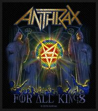 ANTHRAX - For All Kings Patch Aufnäher 9x10cm