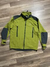 Vintage Arcteryx Light Green Full Zip Jacket Pockets Men's Size XL