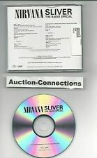 NIRVANA - Sliver The Radio Special - Very Rare CD PROMO - Show Demos Outtakes