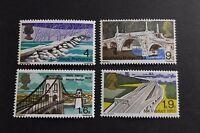 GB MNH STAMP SET 1968 British Bridges SG 763-766 UMM