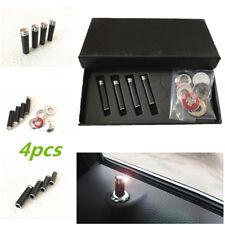 1 Set Metal Billet Door Lock Knob Pins Auto/Car/Truck/SUV/RV Real Carbon Fibre