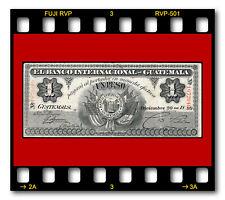 BANCO INTERNACIONAL DE GUATEMALA P-S151 20.12.1899 UN PESO BANKNOTE