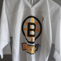 Lot of 30 CCM NHL Boston Bruins Practice Hockey Jerseys NEW Youth L/XL & S/M