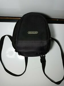 Authentic Nintendo DS Gameboy Mini Backpack Case Handheld Protective Gamer.E9