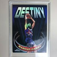 1997-98 Marcus Camby Topps Chrome Destiny Refractor JUST PULLED ! MINT