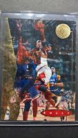 1/1 Overprint 1995 Upper Deck SP  #41 MICHAEL JORDAN over card #71