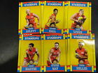 2017 AFL FOOTY STARS FOOTY STANDUPS TEAM SET OF 6 CARDS GOLD COAST SUNS