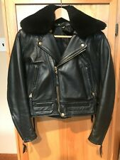 Langlitz Leather Women's Motorcycle Jacket New sz S/36, 2000 Series