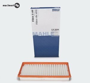 Air Filters Smart 451 Original Mahle Mad IN Germany