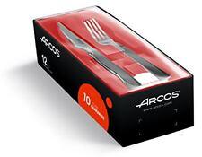Arcos 378100 - juego de cuchillo Chuletero y tenedor 100 mm (12pzs)