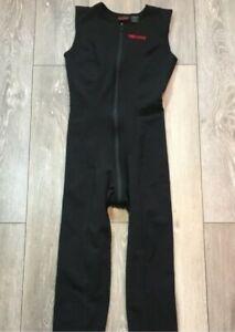 Marmot Power One Farmer John Sleeveless Fleece XL Long Underwear Black Men's VV3