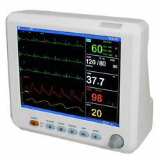 Icu Pro 6 Parameter 8 Screen Patient Monitor Cardiac 8 Multiparameter Monitor