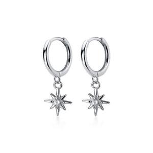 2x M/ädchen Ohrringe aus echt 925 Sterling-Silber mit Zirkonia rosa Herz Edelstahl