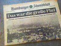 Hamburger Abendblatt 01.03.1962 - Chronik und Dokumentation zur Flutkatastrophe