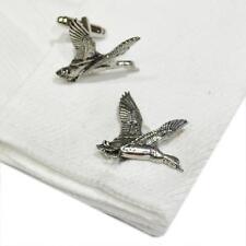 Silver Pewter Mallard Duck Cufflinks Handmade in England Cuff Links Ducks New