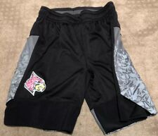 University of Louisville Cardinals Game Used Worn Shorts Iced Out Black