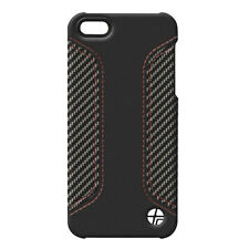 Genuine New Trexta COUPE iPhone 5 5s se in Fibra di Carbonio Cover Custodia Pelle Nera