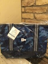 NEW POTTERY BARN KIDS CAMOUFLAGE SKATE BOARD AFTER SCHOOL TOTE BAG