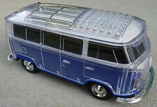 Novelty Vintage VW Kombi MP3, USB, TF/SD Card Player with FM Radio & Bluetooth