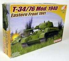 Dragon 1/72 Scale 7258 T-34/76 Mod 1940 Eastern Front Tank Plastic Model Kit