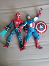 Spider-Man & Captain America Large Action Figures