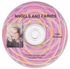 Angel and Fairies! - 1100+ public domain and royalty free images on CD