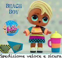 Lol BOYS NEW🏄♂️BEACH BOI •BOYS -204 Serie 2 •FAMILY Doll Surfer BABE •OMG TOP