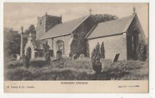 Somersby Church Lincolnshire pre 1918 Postcard Lacey 910b