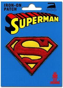 Superman Logo Zum Aufnähen Tuch Aufnäher ( Lsh )