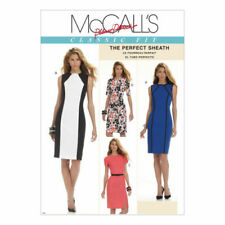 McCall's Sewing Pattern to MAKE The Perfect Sheath Dress Size 16-22 - M6028 FF