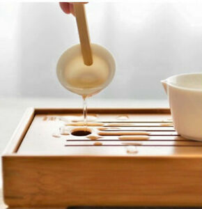Bamboo Tea Board Tea Tray Chinese Kung Fu Tea Tools for Cup Teapot Crafts Tray
