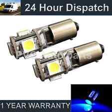 2 x BA9S T4W 233 Canbus Fehlerfrei blau 5 LED Standlicht Standlichtbirnen
