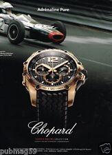 Publicité advertising 2012 La Montre Chopard Classic Ring