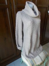 ARMANI JEANS(made in Italy) MAXI Maglione lungo Donna Women's Sweater Tg IT 44