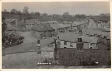 BRAMHAM, LEEDS, ENGLAND ~ TOWN & STREET OVERVIEW, REAL PHOTO PC ~ c 1910-20