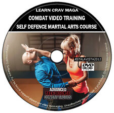 Learn Krav Maga Combat Video Training Self Defence Martial Arts Course DVD Video