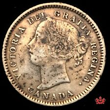 1874H Canada 10 Cents - VF/EF - Lot#763