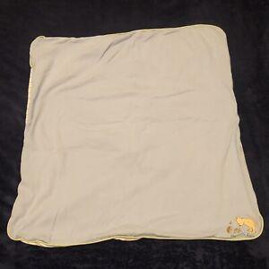 "Disney Classic Pooh Blue Blanket Baby Boy Vintage 29"" X 29"""