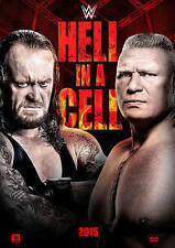 WWE: HELL IN A CELL 2015 NEW DVD
