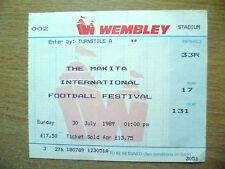 Tickets 1988 International Tournament-AC MILAN v ARSENAL/BAYERN v TOTTENHAM(Org*