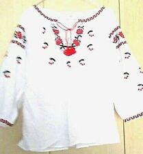 Ukrainische bestickte Trachtenhemd, Bluse, sorochka vyshyvanka neu