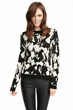 H&M Women's No Pattern Crew Neck Jumpers & Cardigans