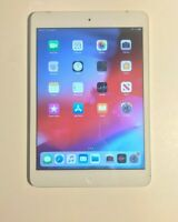 Apple iPad mini 2 64GB Wi-Fi + Cellular Unlocked SILVER - POWER BUTTON FAULTY