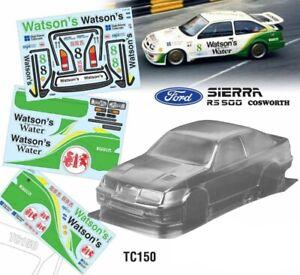 Ford Sierra RS500 WATSON'S 257mm Tamiya tt01 tt02