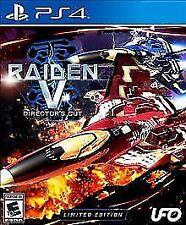 Raiden V: Director's Cut -- Limited Edition (Sony PlayStation 4, 2017)