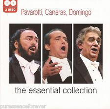 PAVAROTTI/CARRERAS/DOMINGO - The Essential Collection (UK 40 Tk Double CD Album)